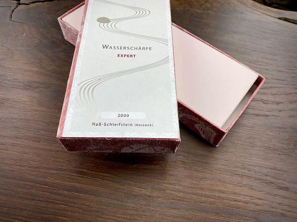 2000er Wasserschärfstein EXPERT - Keramik - Messer Schleifstein
